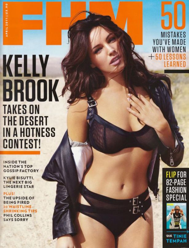 Kelly Brook For FHM UK Magazine