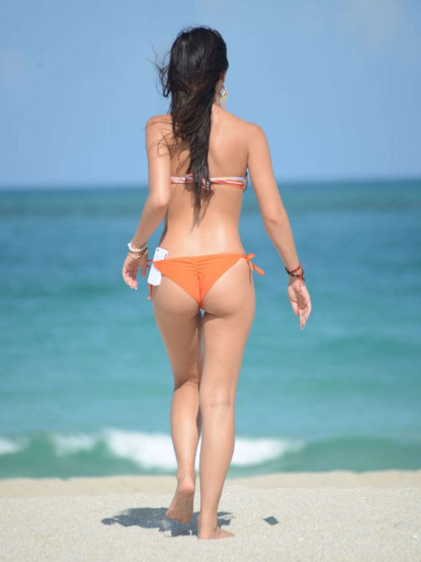Lisa Opie On A Vacation In Miami