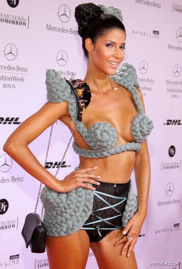 Micaela Schaefer At Mercedes Benz Fashion Week