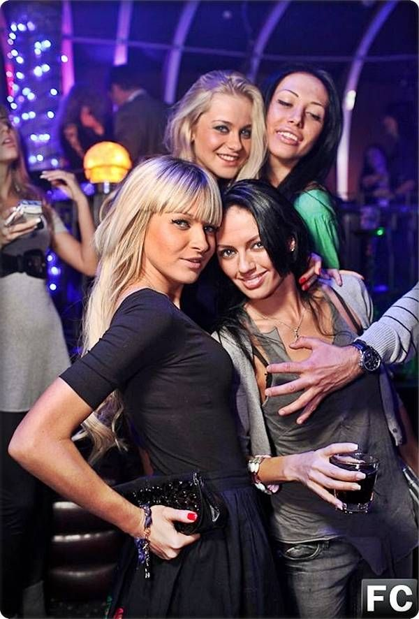Pretty Moscow Club Galz