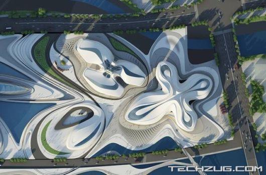 Futuristic Cultural Complex In Changsha, China