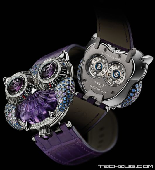 MB F with Boucheron Present The HM3 JwlryMachine Watch'